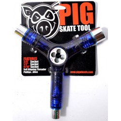 Chave de Skate Pig Clear Blue