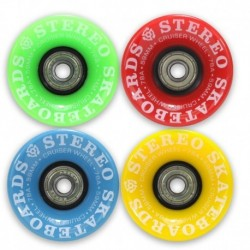 Rodas Stereo Vinyl Cruiser Gumball Multi Colour 59mm