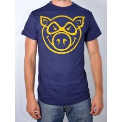 T-Shirt Pig - Basic Slim Fit - Navy