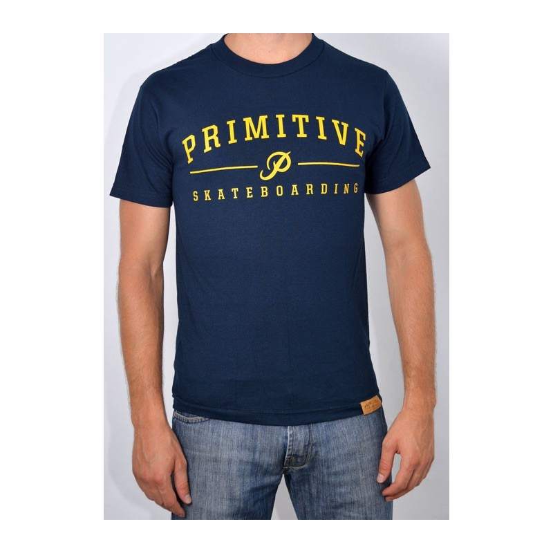 T-Shirt Primitive Core Logo - Navy