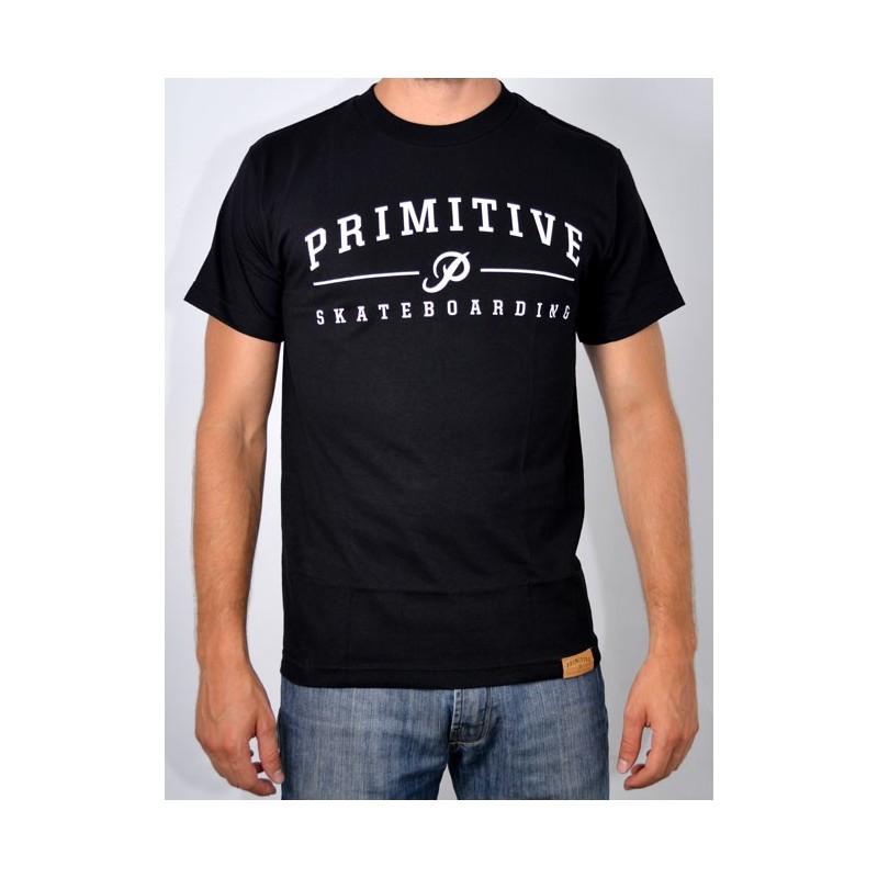 T-Shirt Primitive Core Logo - Black