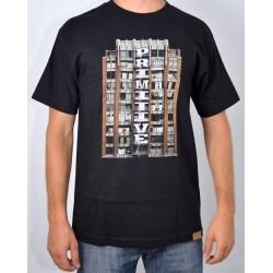 T-Shirt Primitive Downtown - Black