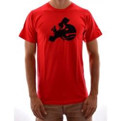 T-Shirt Cliché Europe - Red/Black