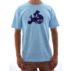 T-Shirt Cliché Europe - Blue/Purple