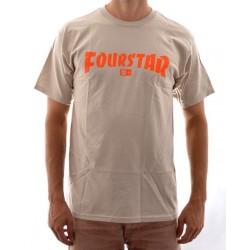 T-Shirt Fourstar High Speed - Sand/Orange