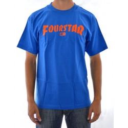 T-Shirt Fourstar High Speed - Royal