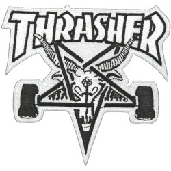 Remendo Thrasher Skate Goat White