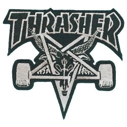 Remendo Thrasher Skate Goat Black