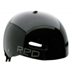 Capacete Red Riot - Black
