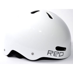 Capacete Red Riot - White