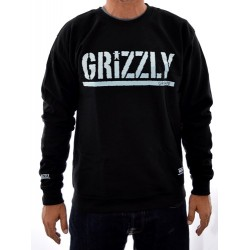 Sweat Crew Grizzly Shade Stamp - Black