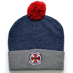 Gorro Independent BTG Bobble - Heather Grey/Indigo Heather