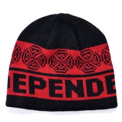 Gorro Independent Woven Cross - Black