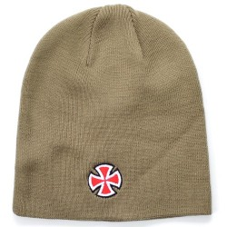 Gorro Independent Cross - Taupe Grey
