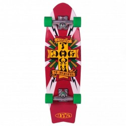 "Cruiser Dogtown Death To Invaders White - 8.5"" x 28.75"""