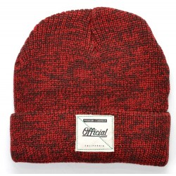 Gorro Official Red Heather