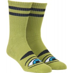 Meias Toy Machine Sect Eye Sock III - Army