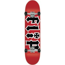 """Skate Completo Flip - HKD Red - 7.75"""""""""""