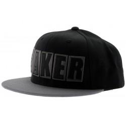 Boné Baker OG Logo - Black/Grey