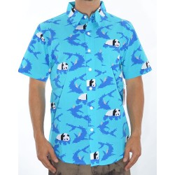 Camisa Enjoi Shark Top - Blue