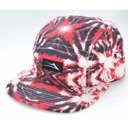 Boné Lakai Trippy 5 Panel - Red