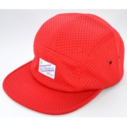 Boné Huf Sports Label Mesh 5 Panel - Red