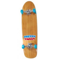 "Cruiser Girl Pretty Sweet Bamboo - 8.5"""" x 31.625"""""