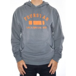 Sweat Hood Fourstar Physed - Charcoal