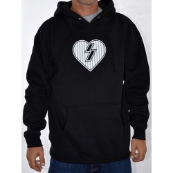 Sweat Hood Mystery Heart - Black