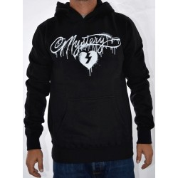 Sweat Hood Mystery Splash - Black