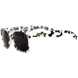 Krooked K Sight  Black White Sunglasses