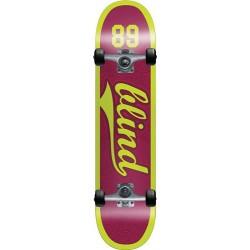 """Skate Completo Blind Athletic Skin Plum - 7.625"""""""""""