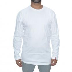 Longsleeve Record Simple - White