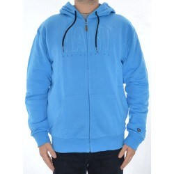 Sweat Hood Zip Jart Basic - Blue
