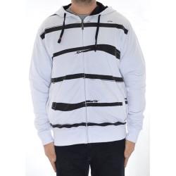 Sweat Hood Zip Jart Decks 2 - White