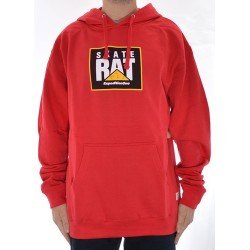 Sweat Hood Expedition Skate Rat - Red