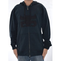 Sweat Hood Zip Ipath Logo - Navy