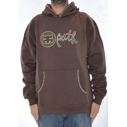 Sweat Hood Ipath Native - Brown
