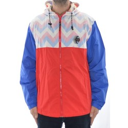 Casaco Official All Good Zag - Red/ Blue