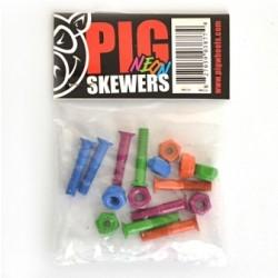 Pig Neon Skewers Hardware