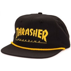 Boné Thrasher Rope - Black