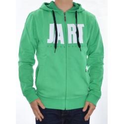 Sweat Hood Zip Jart Basic - Green