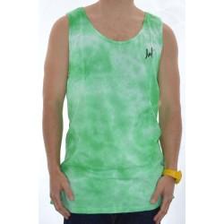 T-shirt de Alças Huf Crystal Wash - Green