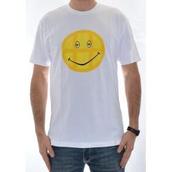 T-Shirt Huf Smile - White 00f73b0db