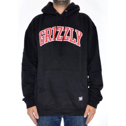 Sweat Hood Grizzly Top Team - Black