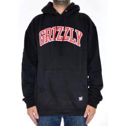 Sweat Hood Grizzly Top Team - Black