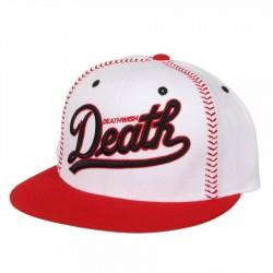 Boné Deathwish Dragon Baseball - White/Red