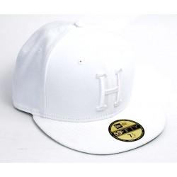 Boné Huf Classic H New Era - White