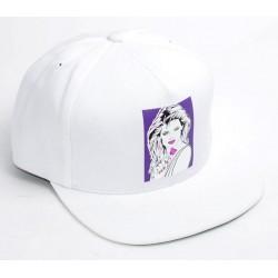 Boné Huf Women Snapback - White