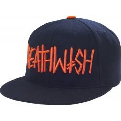 Deathwish Deathspray Navy/ Orange Wool Hat